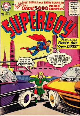 Superboy #52. Click for current values.