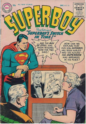 Superboy #53. Click for current values.