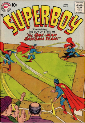 Superboy #57. Click for current values.