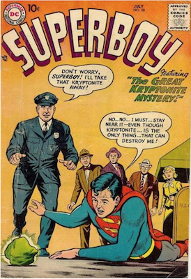 Superboy #58. Click for current values.