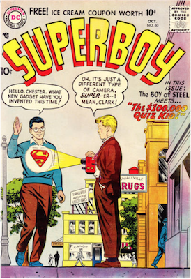 Superboy #60. Click for current values.