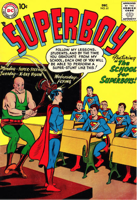 Superboy #61. Click for current values.