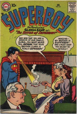 Superboy #62. Click for current values.