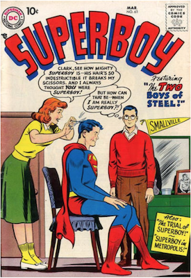Superboy #63. Click for current values.