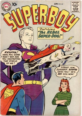 Superboy #64. Click for current values.