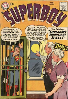 Superboy #65. Click for current values.