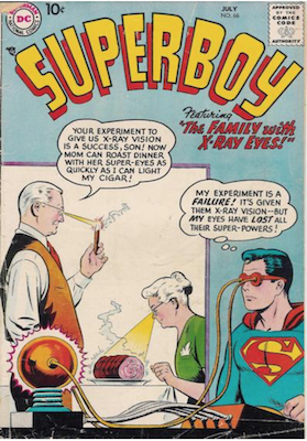 Superboy #66. Click for current values.