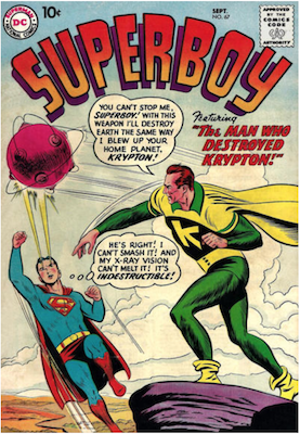 Superboy #67. Click for current values.