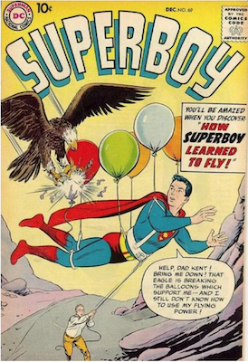 Superboy #69. Click for current values.