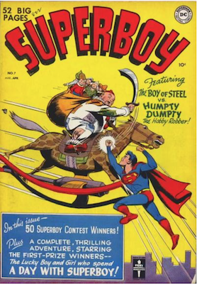 Superboy #7. Click for current values.