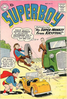 Superboy #76. Click for current values.