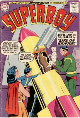 Superboy #79. Click for current values.