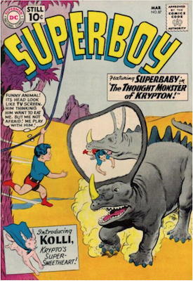 Superboy #87. Click for current values.
