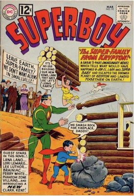 Superboy #95. Click for current values.