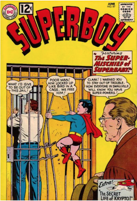 Superboy #97. Click for current values.
