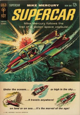 Supercar #1 (1962), Gold Key. Click for values