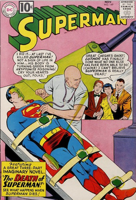 Superman #149: Death of Superman issue