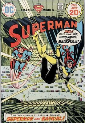 Superman #279: Batman and Batgirl crossover