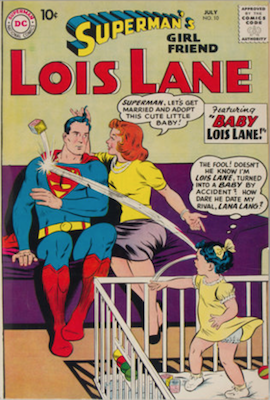 Superman's Girlfriend Lois Lane #10. Click for current values.