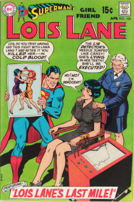 Superman's Girlfriend Lois Lane #100. Click for current values.