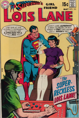 Superman's Girlfriend Lois Lane #101. Click for current values.