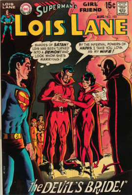 Superman's Girlfriend Lois Lane #103. Click for current values.