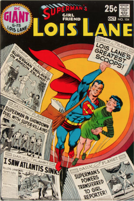 Superman's Girlfriend Lois Lane #104. Click for current values.