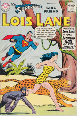 Superman's Girlfriend Lois Lane #11. Click for current values.