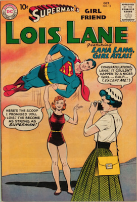 Superman's Girlfriend Lois Lane #12. Click for current values.