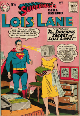 Superman's Girlfriend Lois Lane #13. Click for current values.