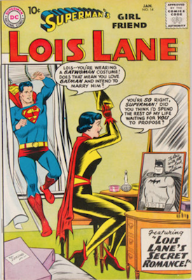 Superman's Girlfriend Lois Lane #14. Click for current values.