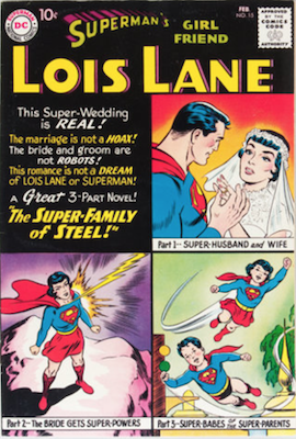 Superman's Girlfriend Lois Lane #15. Click for current values.