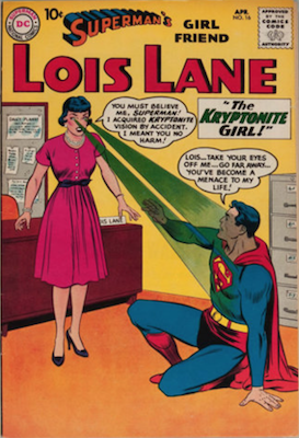 Superman's Girlfriend Lois Lane #16. Click for current values.
