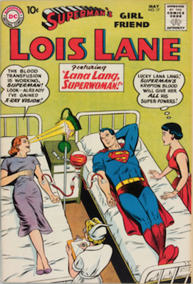 Superman's Girlfriend Lois Lane #17. Click for current values.