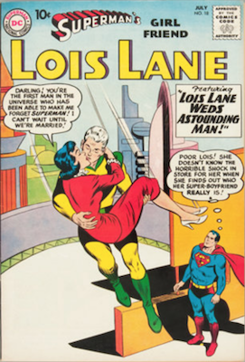 Superman's Girlfriend Lois Lane #18. Click for current values.