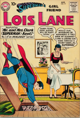 Superman's Girlfriend Lois Lane #19. Click for current values.