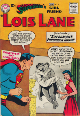 Superman's Girlfriend Lois Lane #2. Click for current values.