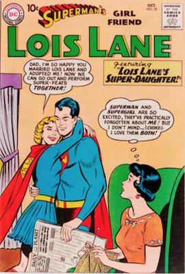 Superman's Girlfriend Lois Lane #20. Click for current values.