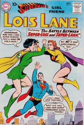 Superman's Girlfriend Lois Lane #21. Click for current values.
