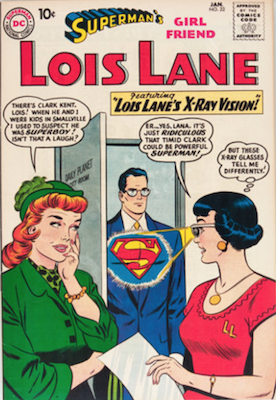 Superman's Girlfriend Lois Lane #22. Click for current values.