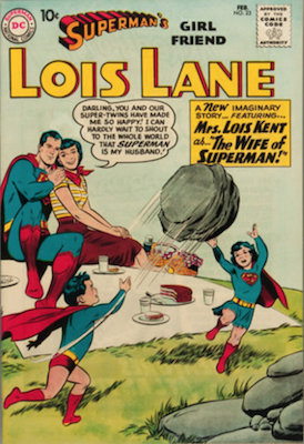 Superman's Girlfriend Lois Lane #23. Click for current values.