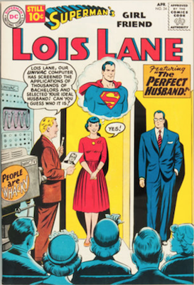 Superman's Girlfriend Lois Lane #24. Click for current values.