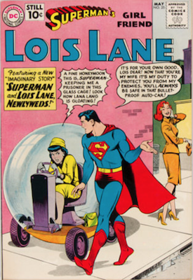 Superman's Girlfriend Lois Lane #25. Click for current values.
