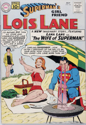 Superman's Girlfriend Lois Lane #26. Click for current values.