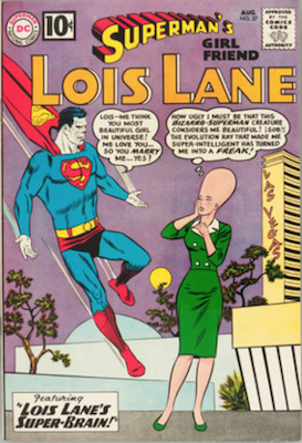 Superman's Girlfriend Lois Lane #27. Click for current values.