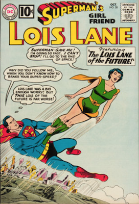 Superman's Girlfriend Lois Lane #28. Click for current values.