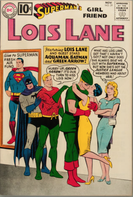 Superman's Girlfriend Lois Lane #29. Click for current values.
