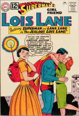 Superman's Girlfriend Lois Lane #31. Click for current values.