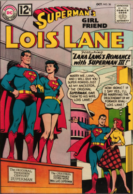 Superman's Girlfriend Lois Lane #36. Click for current values.