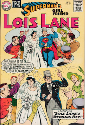Superman's Girlfriend Lois Lane #37. Click for current values.